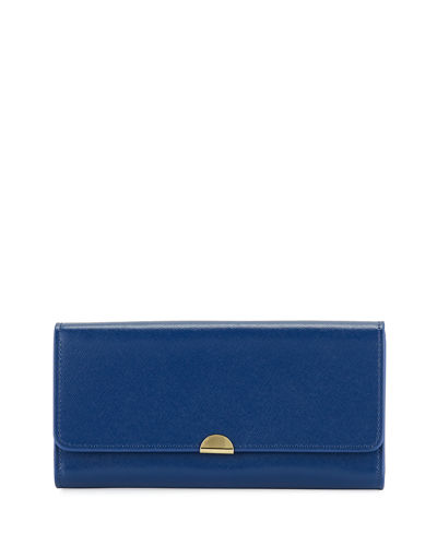 Saffiano Accordion Continental Wallet