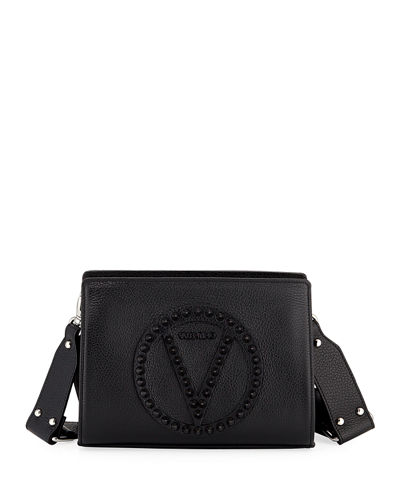 Kiki Studded Logo Shoulder Bag