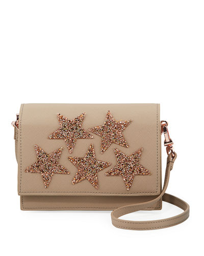 Beaded Star Crossbody Bag