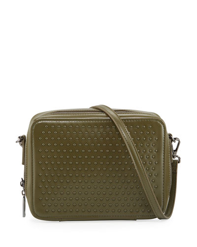 Studded Crossbody Camera Bag