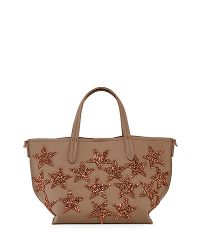 Beaded Star Mini Tote Bag
