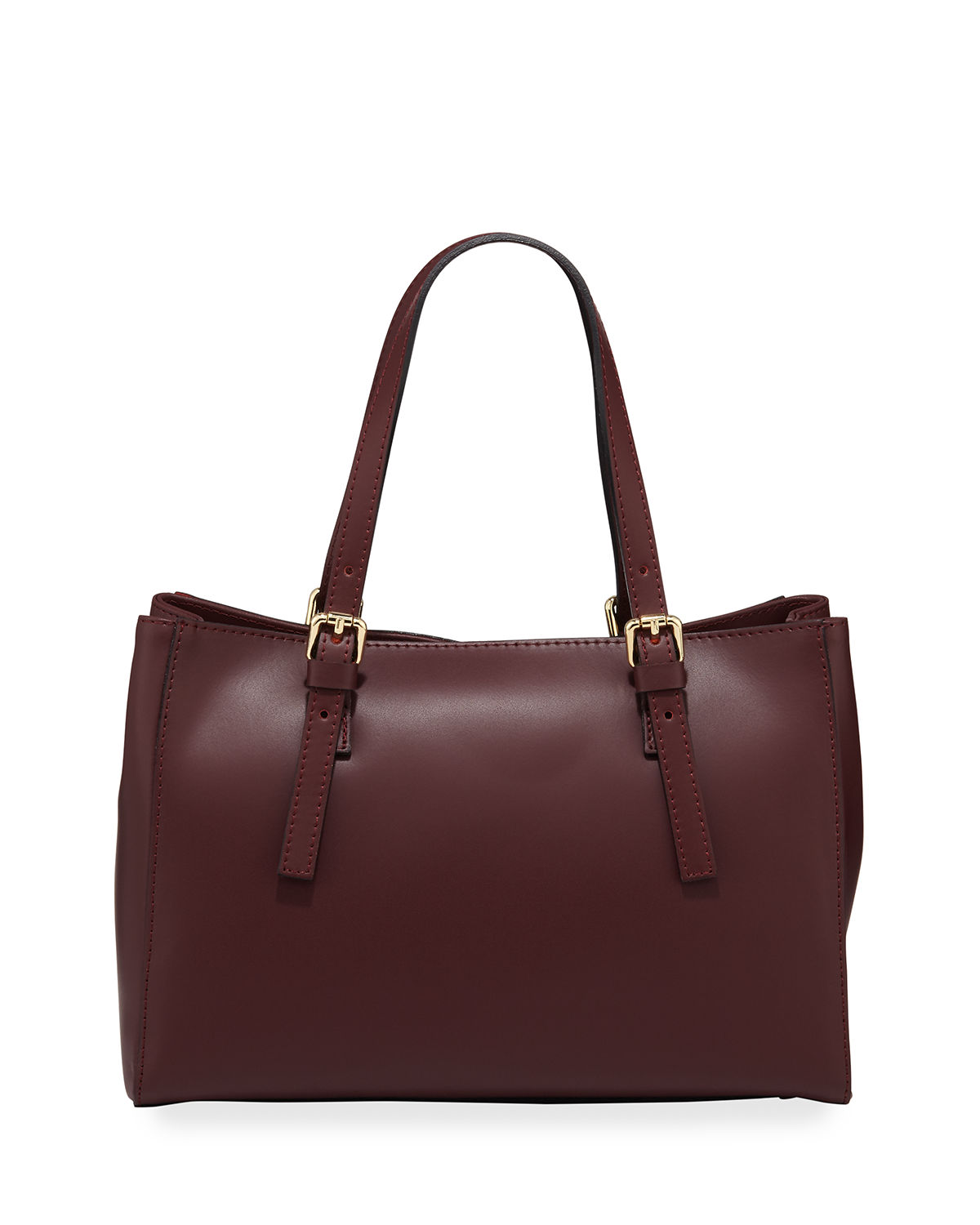 Buckled Top Handle Satchel Bag
