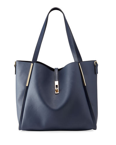Abigale Faux Leather Tote Bag