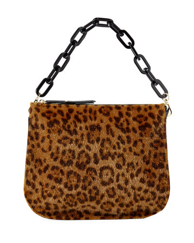 Alice Leopard-Print Crossbody Bag
