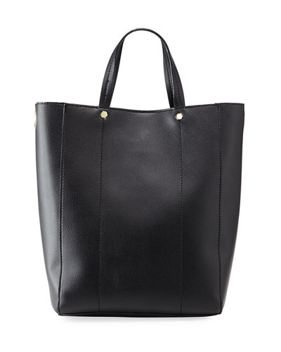 Perse Faux Leather Tote Bag