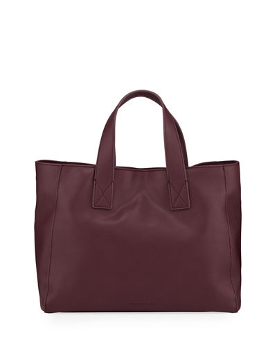 Jayden Faux-Leather Satchel Tote Bag