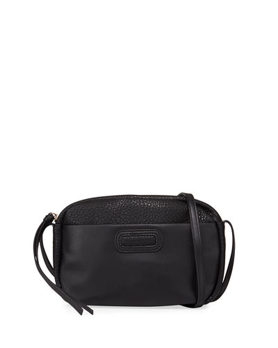 Rebellious Vegan Leather Crossbody Bag