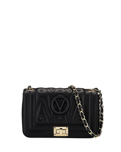 Beatriz Sauvage Quilted Leather Shoulder Bag