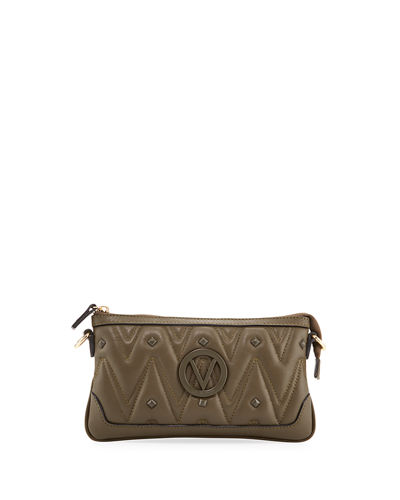 Abigail D Sauvage Quilted Leather Crossbody Bag