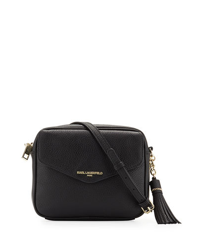 Vera Leather Crossbody Bag