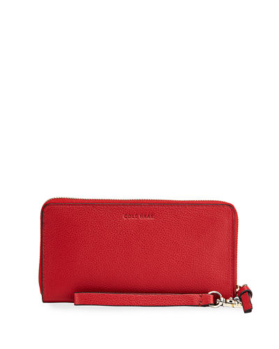 Piper Leather Continental Zip Wallet