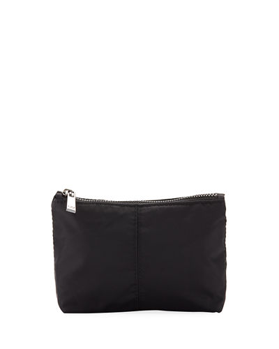 Nylon Cosmetic Zip Pouch Bag