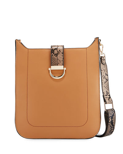 Scout Faux-Leather Crossbody Bag