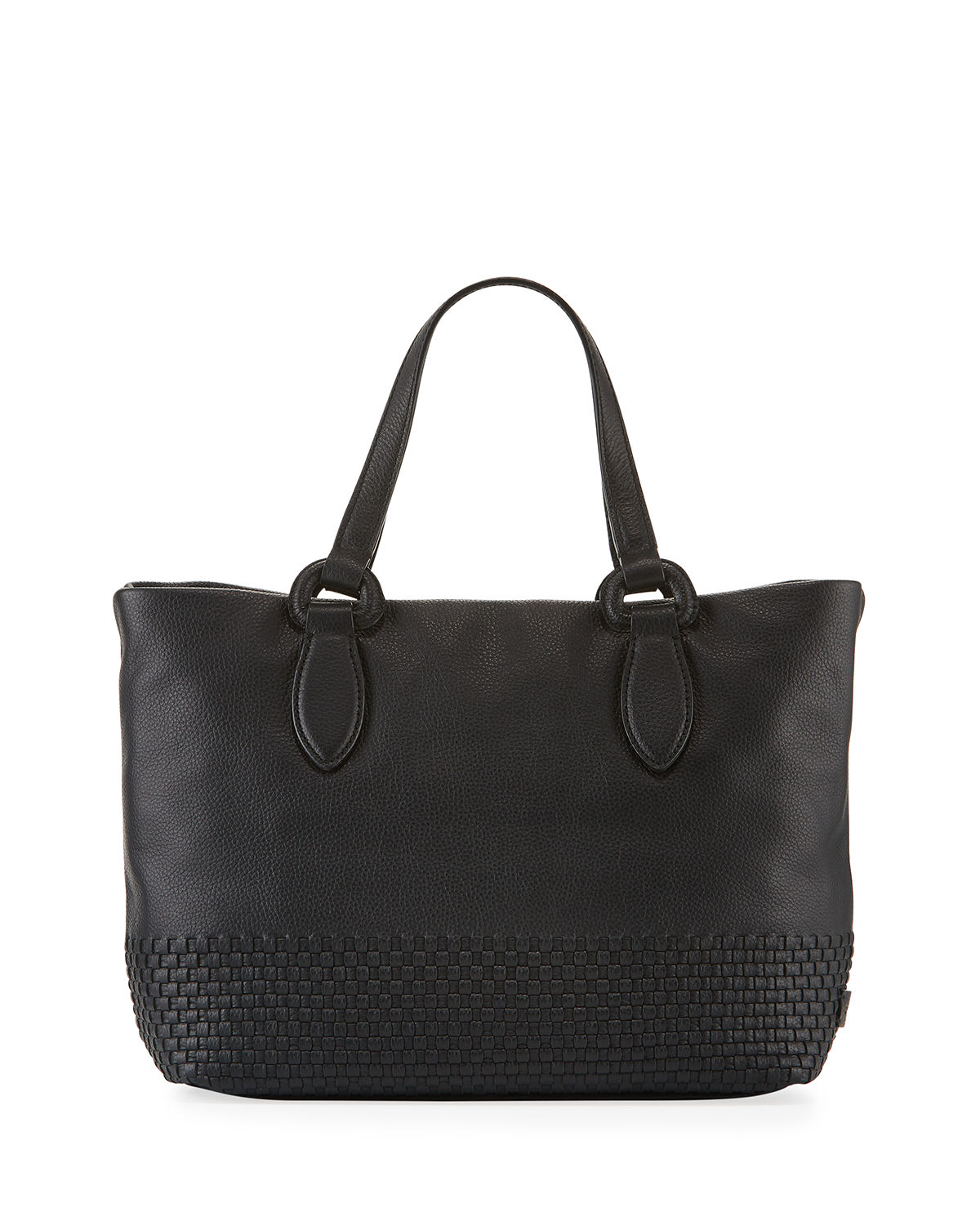 Cole Haan Totes BETHANY SMALL WOVEN LEATHER TOTE BAG