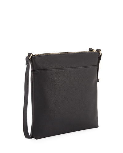 Emma Triple Zip Crossbody Bag
