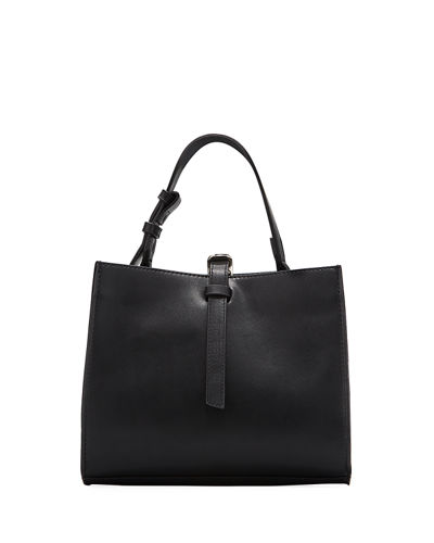French Connection Georgia Faux-Leather Satchel Bag