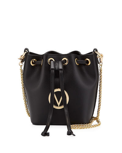 Jules Leather Bucket Bag