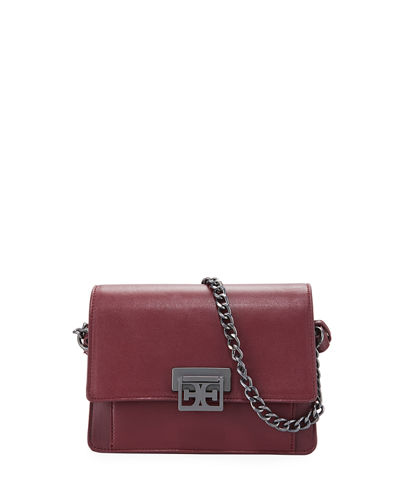 Paislee Faux-Leather Crossbody Messenger Bag