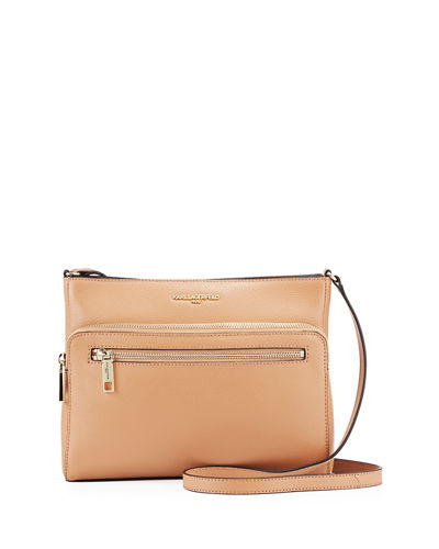 Willow Pebbled Leather Zip Crossbody Bag