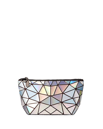Iridescent Geometric Tiled Coin Purse Bag