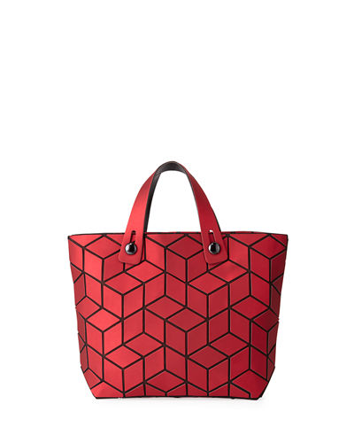 Geometric Square Tiled Mini Tote Bag