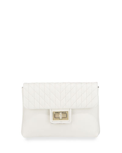 Agyness Quilted Leather Belt Bag