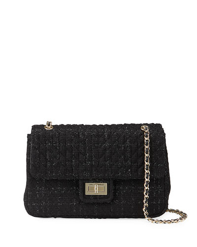 Agyness Multicolored Boucle Shoulder Bag