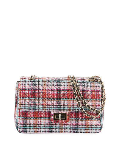 Karl Lagerfeld Paris Agyness Multicolored Boucle Shoulder Bag