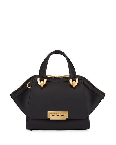 Eartha Small Leather Top Handle Bag