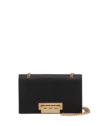 Earthette Small Leather Chain Shoulder Bag