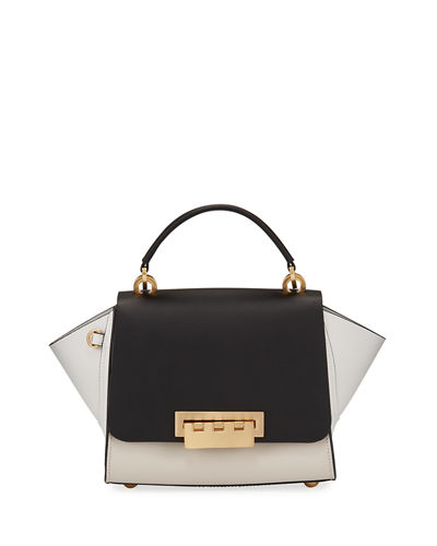 Eartha Colorblock Top-Handle Crossbody Bag