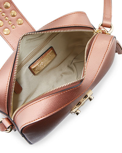 Lila Palmellato Leather Crossbody Bag