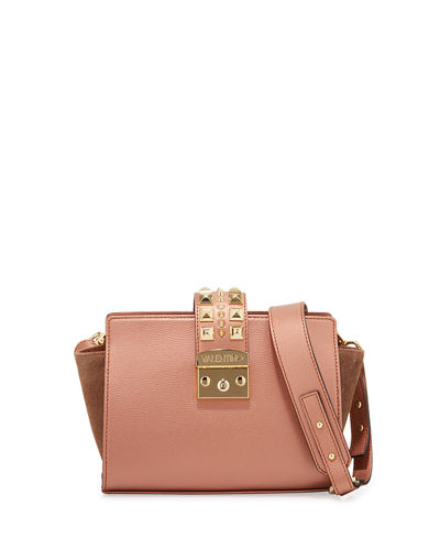 Kiki Palmellato Leather Crossbody Bag
