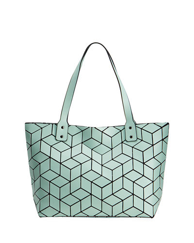 Slanted Square Geo Tote Bag