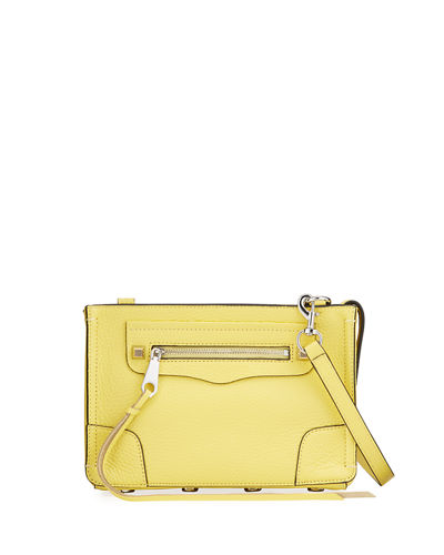 Regan Small Pebbled Leather Crossbody Bag