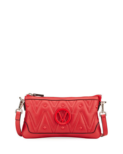 Abigail D Sauvage Studs Leather Crossbody Bag
