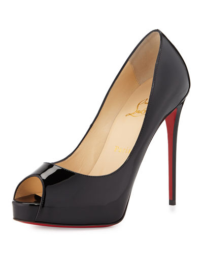 873cf0fe43b6 Christian Louboutin New Very Prive Patent Red Sole Pump