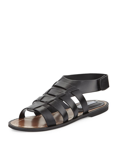 Zia Leather Open-Toe Sandal