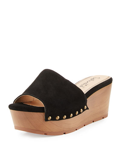 Lana Leather Platform Sandal