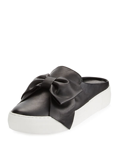 Bella Bow Slide Platform Sneakers