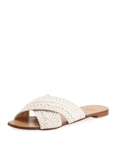 Stuart Weitzman Woven Slide Sandals Shop For Shopping Online Original t3Cv8