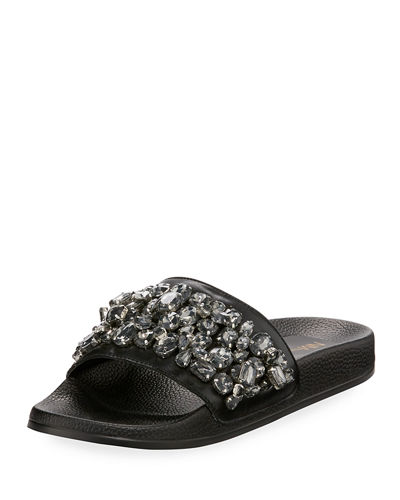 Darling Embellished Slide Sandal