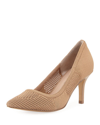 Sochi Stretch-Knit Pump