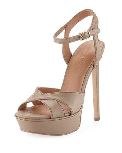 Halston Heritage Suede Platform Sandals The Cheapest For Sale Cheap Online 5kaL4myCuh