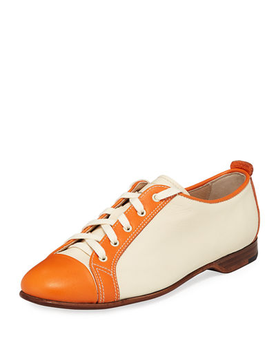 Gravati Colorblock Smooth Leather Sneaker