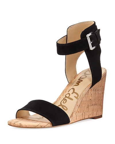 1f9de3a4e68030 Sam Edelman Willow Suede Wedge Sandal