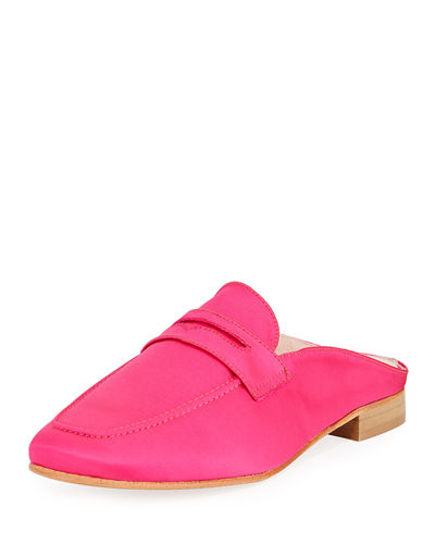 Suri Satin Slide Loafer