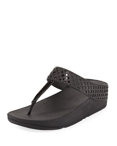 Safi Leather Platform Sandal