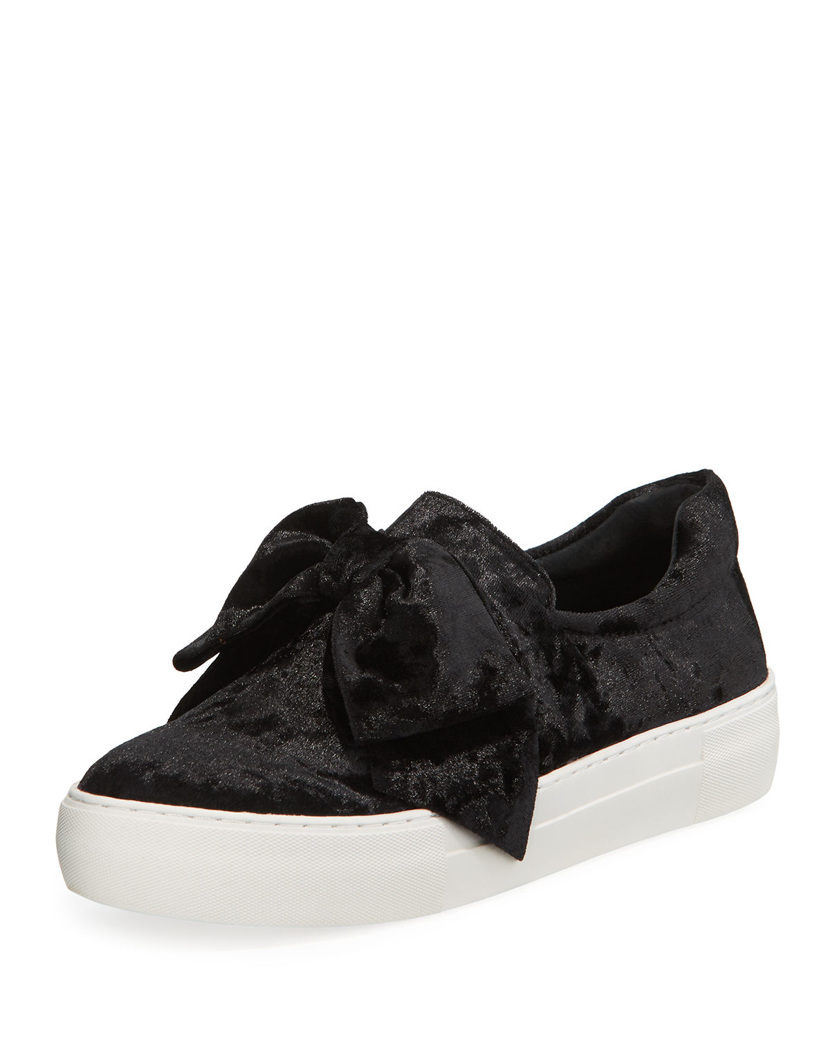 Beauty Suede Bow Sneaker