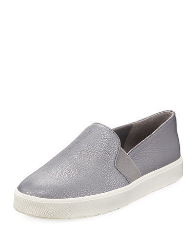 Blair Metallic Flat Platform Sneakers